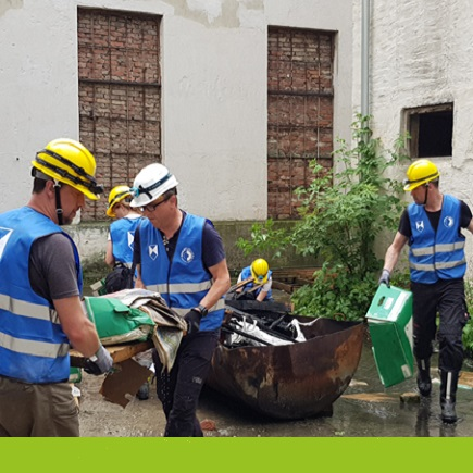 Cultural heritage rescue © Interreg CENTRAL EUROPE
