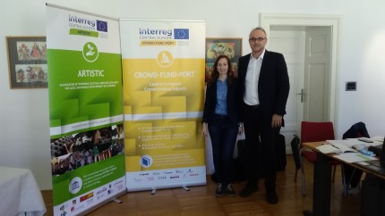 Cooperation between CROWD-FUND-PORT and ARTISTIC projects
