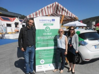 CE-HEAT project was presented at the EMMA - Energy and Mobility Fair in Anger in Austria.