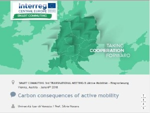 SMART COM Carbon Consequences of Active Mobility