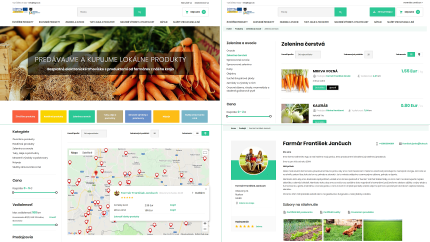 Selected features of the digital marketplace for agricultural production in Košice region