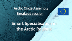 Smart Specialisation in the Arctic Regions