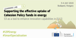 Cohesion Policy funds in energy